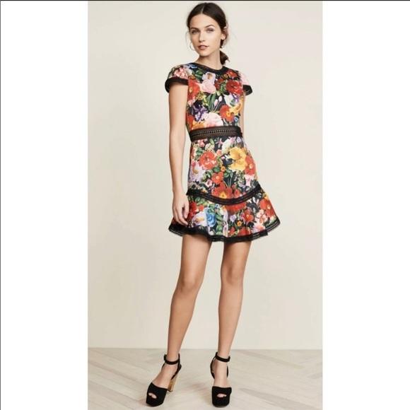 Alice + Olivia Dresses & Skirts - Alice and Olivia floral dress